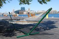 Photo of Promenade at Tidepoint with Hammock and Adirondack Chairs