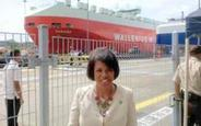 Image of Mayor on economic development trip to Panama Canal