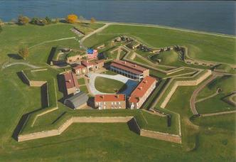 Aerial Photo of Fort McHenry
