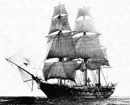 Historic Photo of USS Constellation