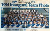 Team Photo of the CFL Baltimore Stallions