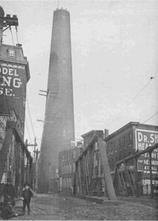 Historic Photo of Phoenix Shot Tower