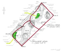 Design Drawing of Druid Heights Peace Garden