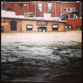 Image of flooding in Fells Point