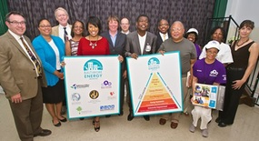 Image of Baltimore Energy Challenge Participants