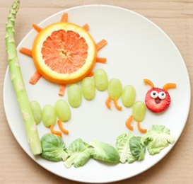 Photo of Food Art made by kids