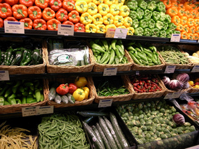 Image of Produce in Grocery Store