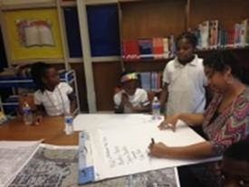 Image of Inspire planning session with children