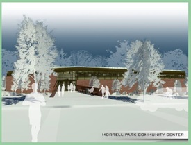 Image of design for new Morrell Park Community Center