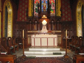 Image of the interior at St. John's in the Village