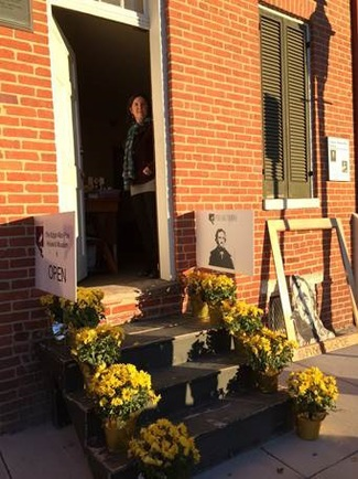 Photo of Poe House Museum on Opening day