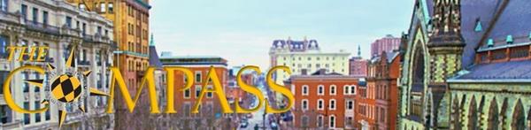 Image of Mount Vernon neighborhood with Compass Logo