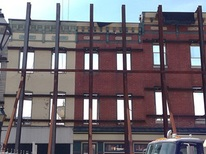 Photo of Facades Under Construction in Fells Point
