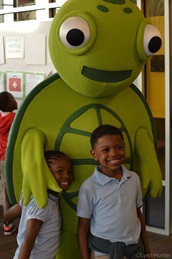Photo of Sustainability Turtle with Children