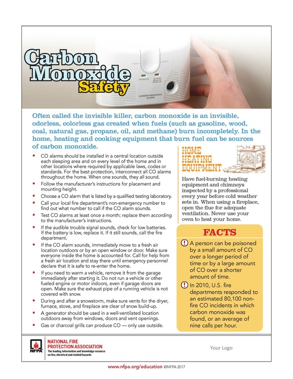 NR - Portable Generator Safety