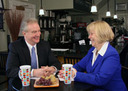 Chris VanHollen and Nancy Floreen