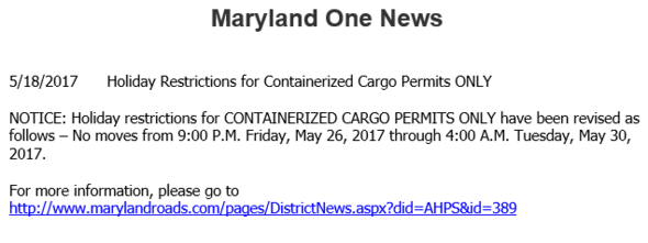 Maryland One News