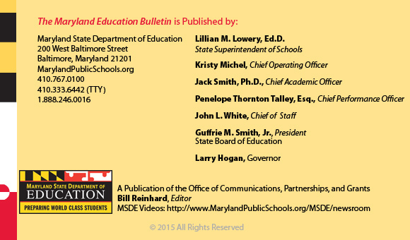 Education Bulletin Masthead