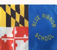 Maryland Blue Ribbon Schools flag