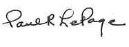 Gov. Signature