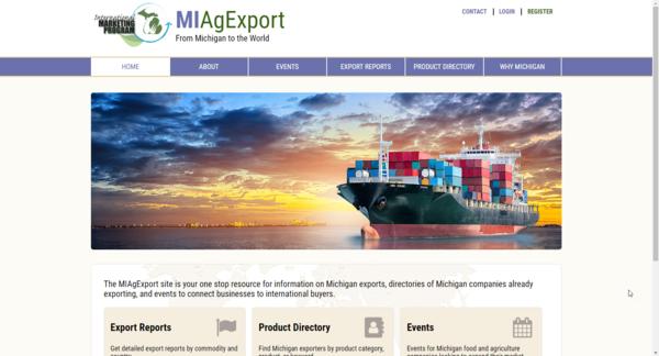 MiAgExport.com Homepage