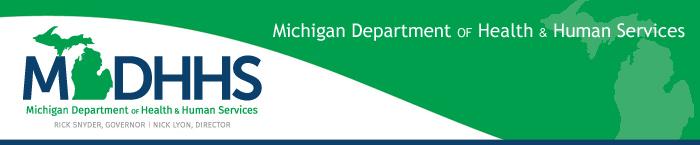 Michigan Department of Health & Human Services logo