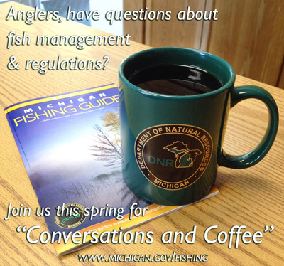 Conversations and coffee with DNR Fisheries Division