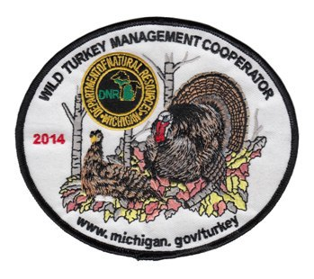 2014 wild turkey cooperator patch