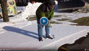 video still - DNR wildlife biologist Brian Roell