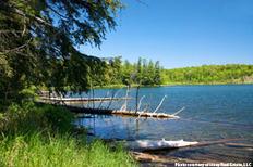 Scenic shot of Silver Lake Basin