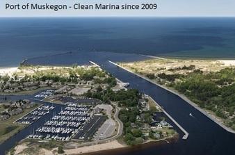 Port of Muskegon Aerial - MDOT