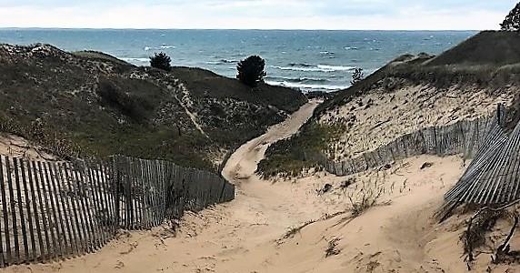 Restored Van Buren Dunes