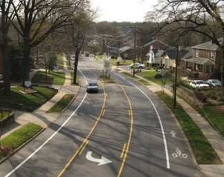 Complete Street example from Charlotte Complete Streets on Flickr - Creative Commons
