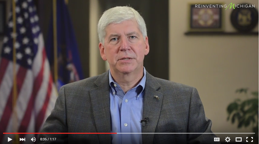 Gov. Snyder's Pipeline Safety Board Video Message