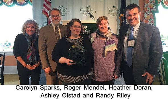 Darcy Library of Beulah receives June B Mendel award
