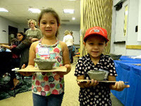 Kids at Michigan Archaeology Day