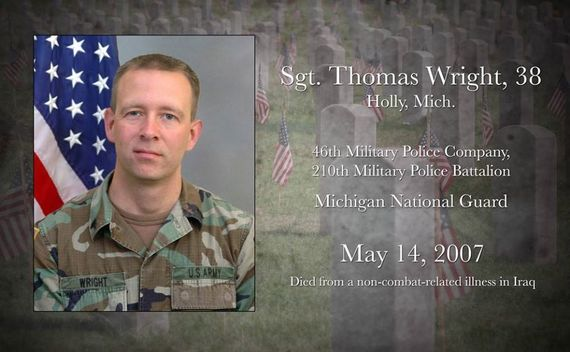 KIA Sgt. Wright