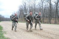 Three Soldiers 125th INF REG
