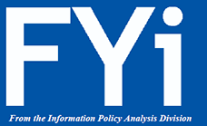 FYi - From the Information Policy Analysis Division