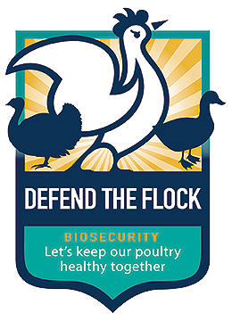 Defend the flock logo