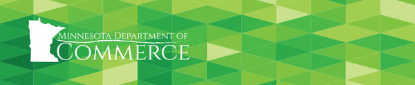 Minnesota Department of Commerce Division of Energy Resources Header