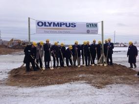 Olympus groundbreaking