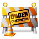Under construction sign