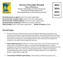 Permit draft