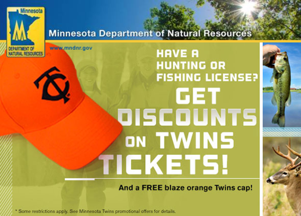 Foul ball corrected dnr link for Minnesota fishing license age