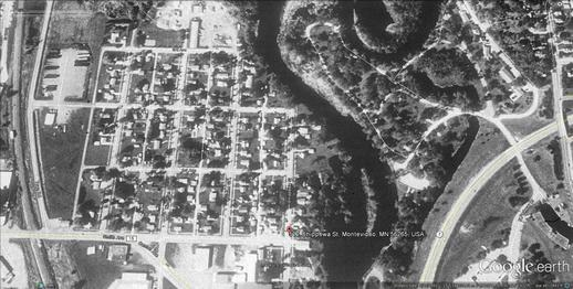 Montevideo - 1991 floodprone area