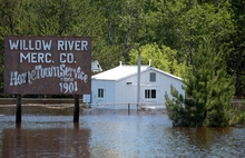 flooding - Willow River