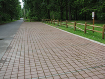 pervious pavement for parking
