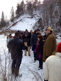 Floodplain managers' conference tour, Duluth