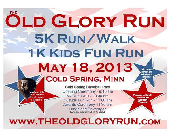 Old Glory Run Flyer